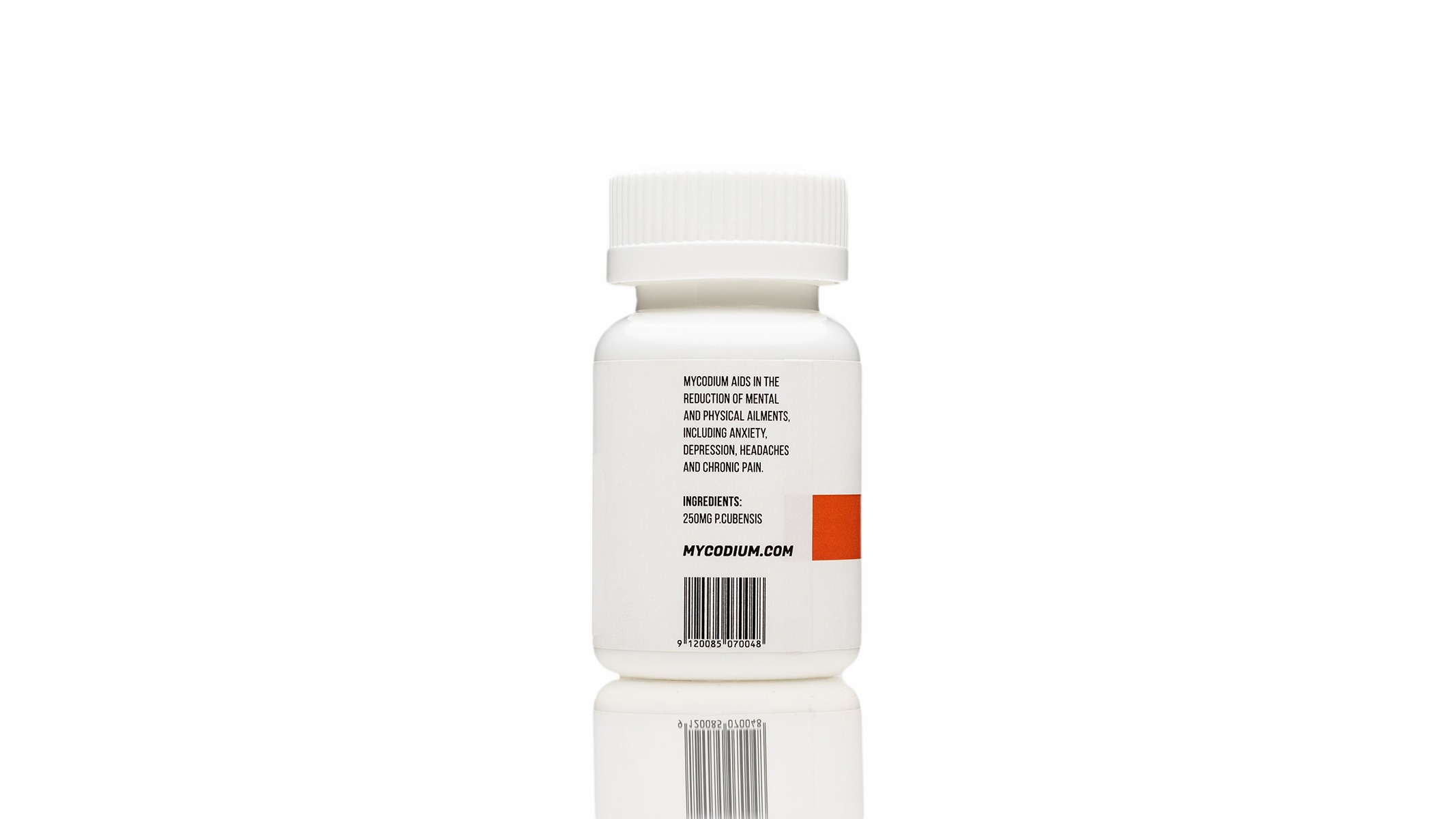 Mycodium – 25 Psilocybin Capsules | 250mg