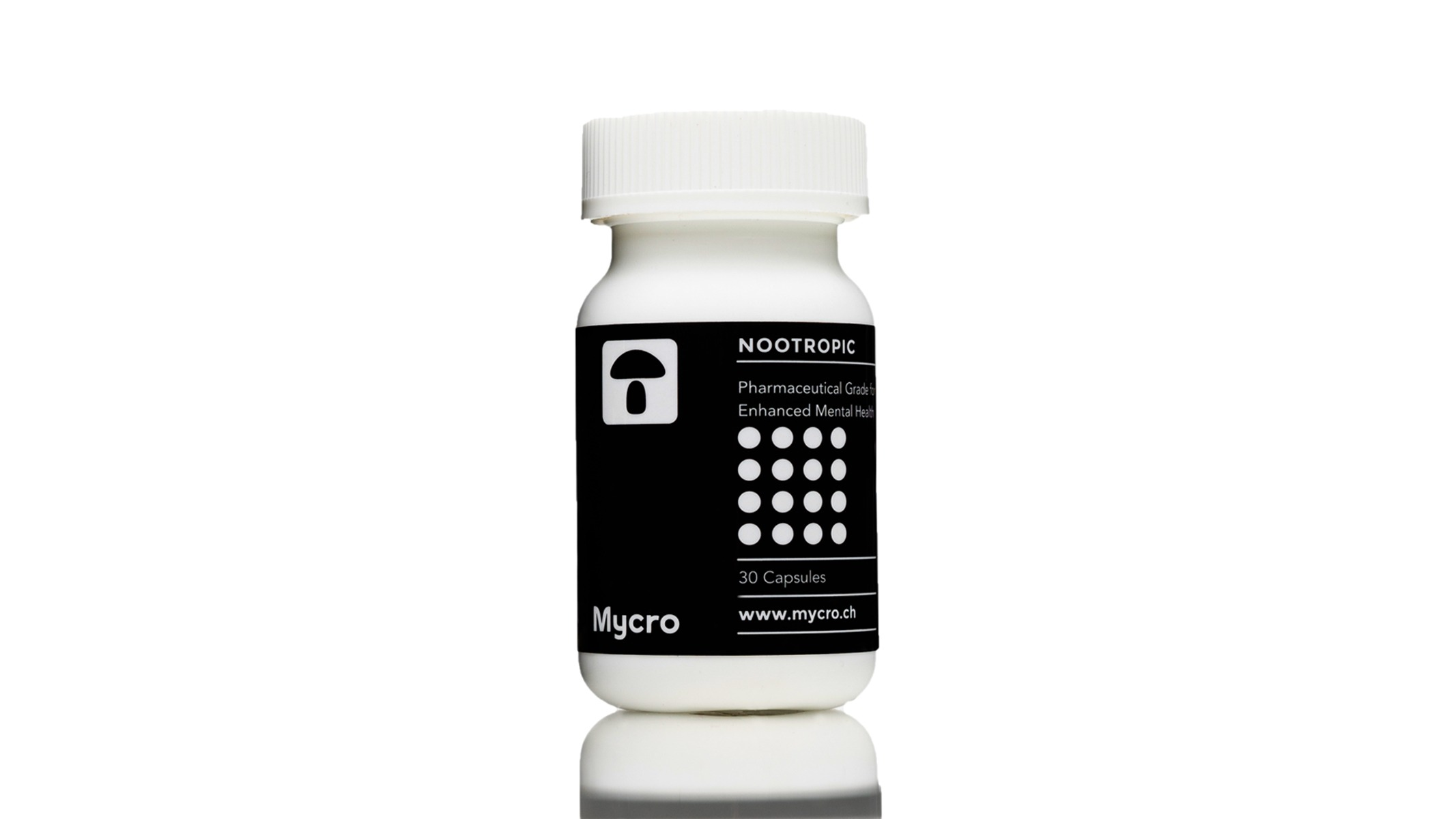 Mycro – 30 Psilocybin Capsules | 100mg