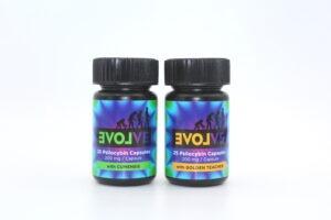 Evolve - 25 Psilocybin Capsules | 200mg