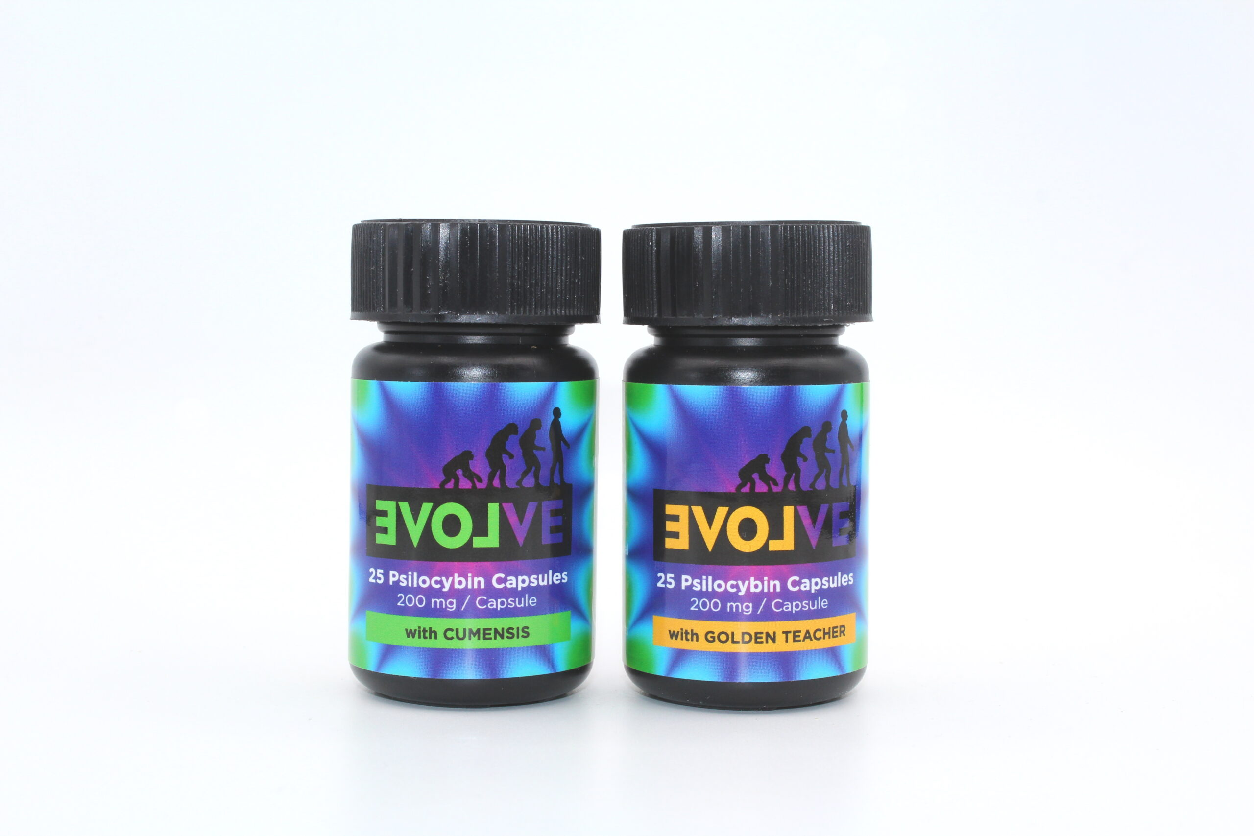 Evolve – 25 Psilocybin Capsules | 200mg