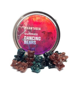 Phantasia Dancing Gummy Bears (100MG)