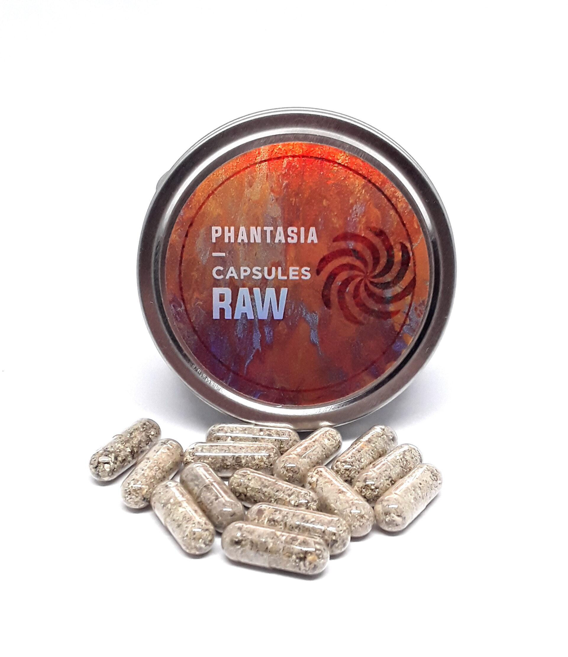 Phantasia Raw Psilocybin Micro-Dose Capsules